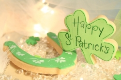AIDAN St Patricks Day Cookie Gift Box