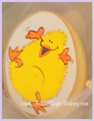 LUCY Easter Chick Cookie Favor