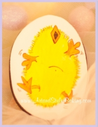 CLARA Easter Chick Cookie Favor
