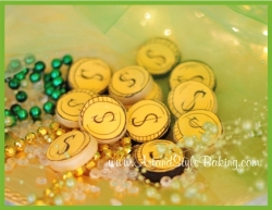 PATRICK Gold Coins Mini Cookie Gift Box
