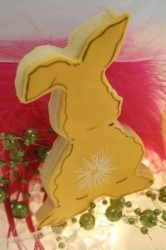 BACKSIDE BUNNY BART Easter Bunny Cookie Favor