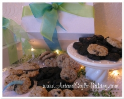 BITE-SIZE Cookie Gift Boxes: 4 Dozen, 2 Flavor