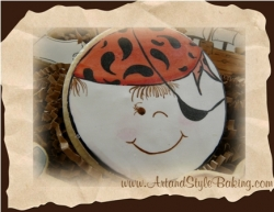 CALICO JACK Pirate Birthday Cookie Favor