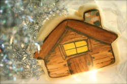 Cabin Cookie Favor CAMDEN
