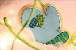Mitten Cookie Favor COMET