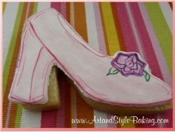 DIANA Princess Party Favor SHOE