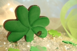 DUFFY St Patricks Day Shamrock Cookie Favor
