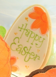 EGG ELLA Easter Egg Cookie Favor