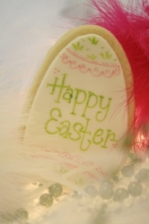 EGG EMMETT Easter Egg Cookie Favor