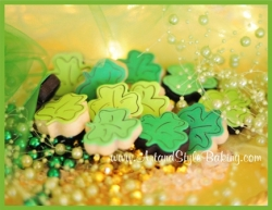 FITZGERALD St Patricks Day Mini Cookies Gift Box