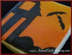 HAUNTED HOUSE Cookie Favor