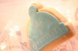 Snow Cap Cookie Favor JINGLE