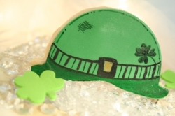 MADIGAN St Patricks Day Derby Hat Cookie Favor