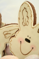 BUNNY PALS MONTY Easter Bunny Cookie Favor