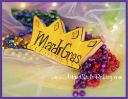 Mardi Gras Cookie Favors
