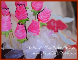 NEW! Valentines Day Cookie Bouquets