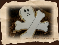 PUGWASH Pirate Birthday Skull and Cross Bones Cookie Favor