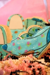 CARRIE Shoe Cookie Favor