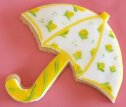 UMBRELLA STEVE Umbrella Cookie Favor