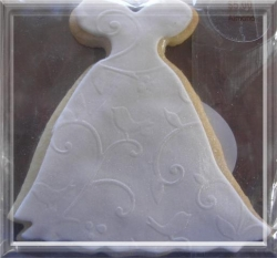 GOWN LARGE CYNTHIA Wedding Gown Cookie Favor