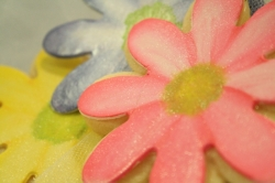 FLOWER DAISY Flower Cookie Favor