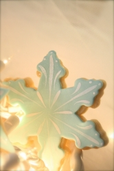 Snowflake Cookie Favor ICICLE