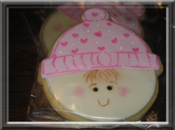 BEANIE IZZY BEE Beanie Baby Cookie Favor