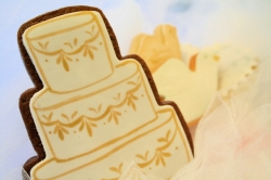 CAKE KATHY Wedding Cake Cookie Favor