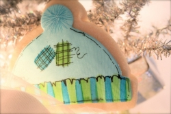 Snow Cap Cookie Favor NAVIE