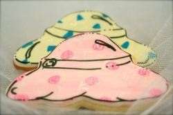 PAM Hat Cookie Favor