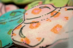 POLLY Hat Cookie Favor