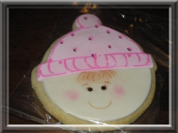 BEANIE RINA Beanie Cookie Favor