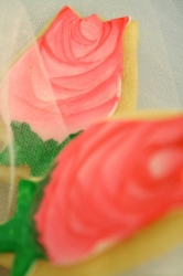 FLOWER ROSAS Rose Cookie Favor