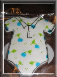 ONESIE TERRY Onesie Cookie Favor