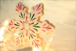 Snowflake Cookie Favor TINSEL