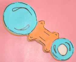 RATTLE TODD Rattle Cookie Favor